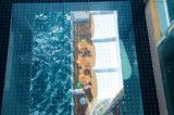 Skywalk auf AIDAprima: 45 Meter über dem Meer