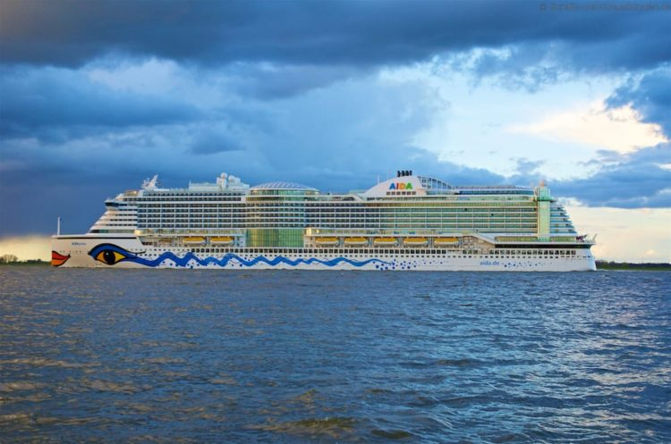 AIDA Schiffsbesichtigungen 2017 in Kiel, Hamburg und Warnemünde