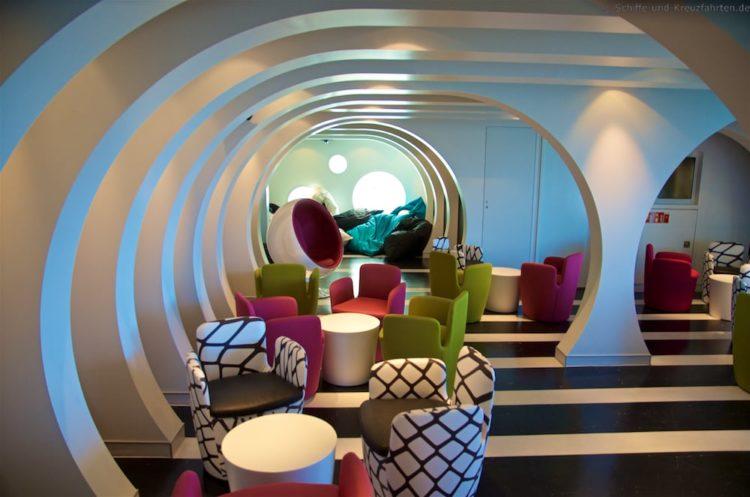 Teens Lounge - Wave Club auf AIDAprima