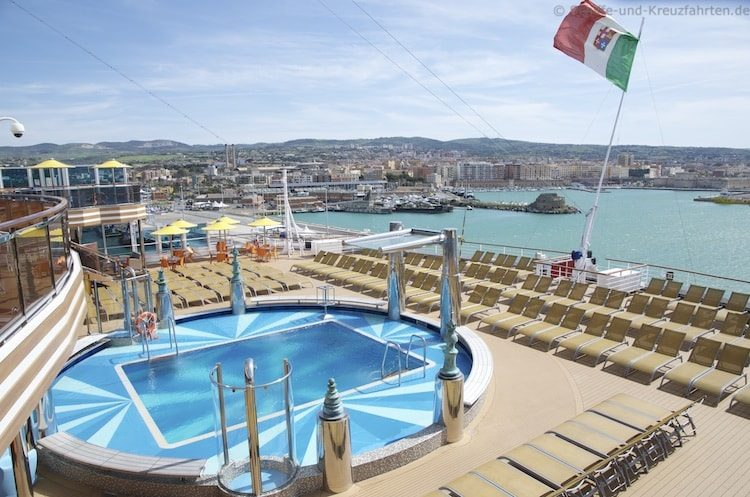 Pool am Heck - Costa Diadema