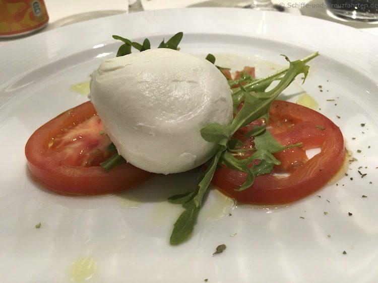 Menü Italienischer Abend