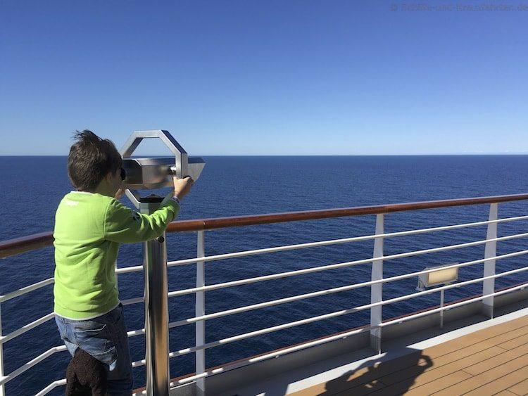 Seetag auf der Costa Diadema