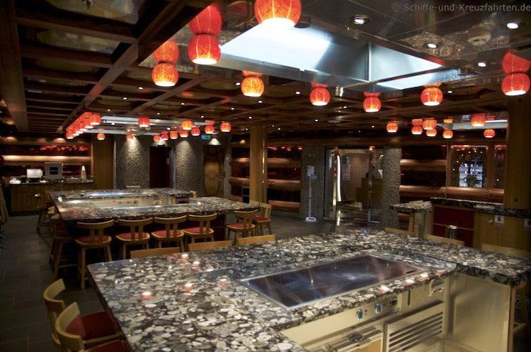 Teppanyaki Restaurant - Costa Diadema