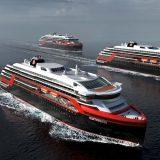 Die neuen Hurtigruten Expeditionsschiffe von der Kleven Werft / © Rolls Royce