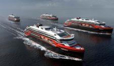 Hurtigruten bekommt zwei neue Expeditionsschiffe von Kleven