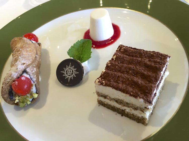 """Dessert-Trio """"Italienische Versuchung"""""""