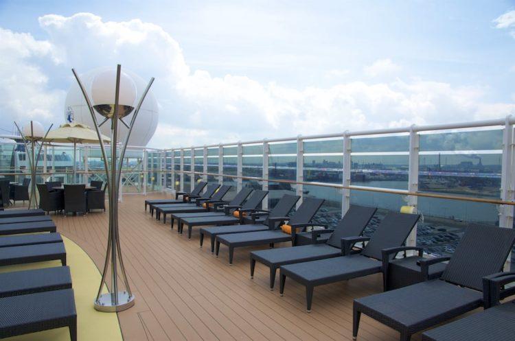 Sonnendeck MSC Yacht Club - MSC Splendida