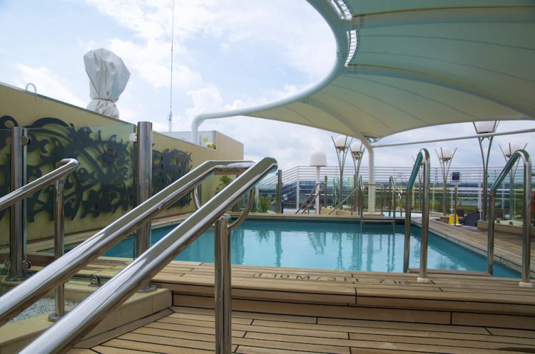 Sonnendeck MSC Yacht Club - MSC Splendida