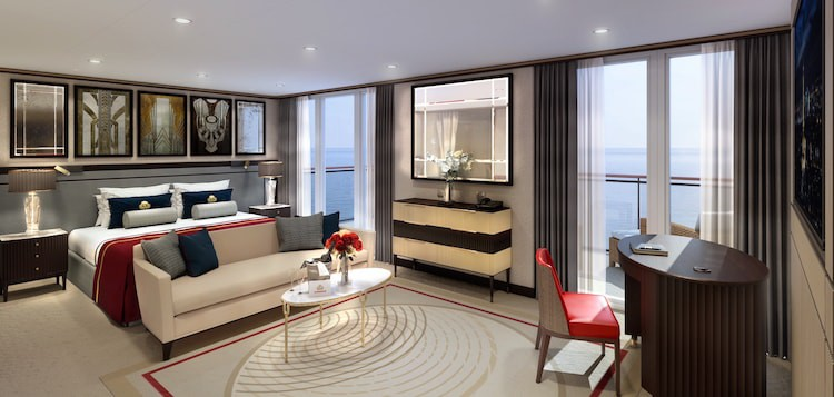 Die neuen Queens Grill Suiten der Queen Mary 2 / © Cunard Line