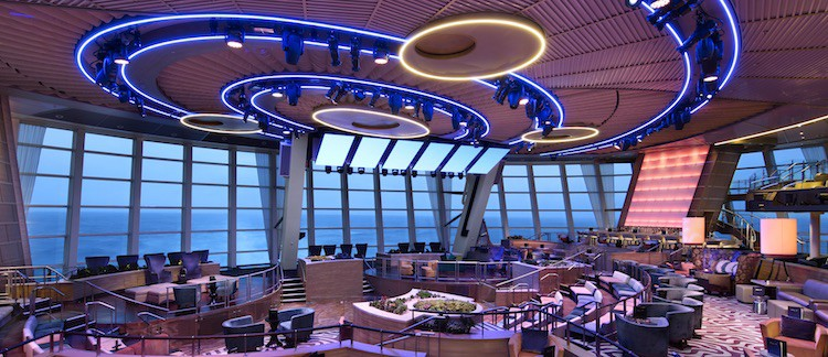 Two 70 Lounge - Deck 5 Aft Anthem of the Seas - Royal Caribbean International © RCL Cruises Ltd.