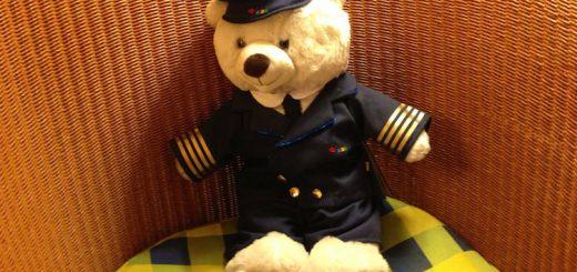 Fridolin Birkklaus - Teddy auf Kreuzfahrt