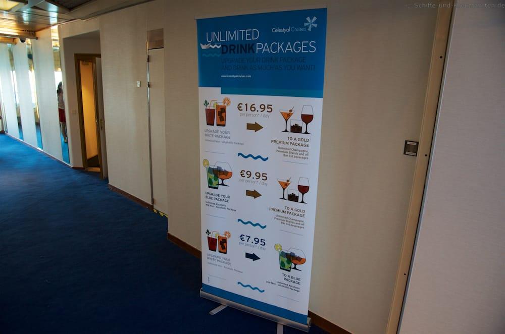 Celestyal Cruises: Upgrade der Getränkepakete