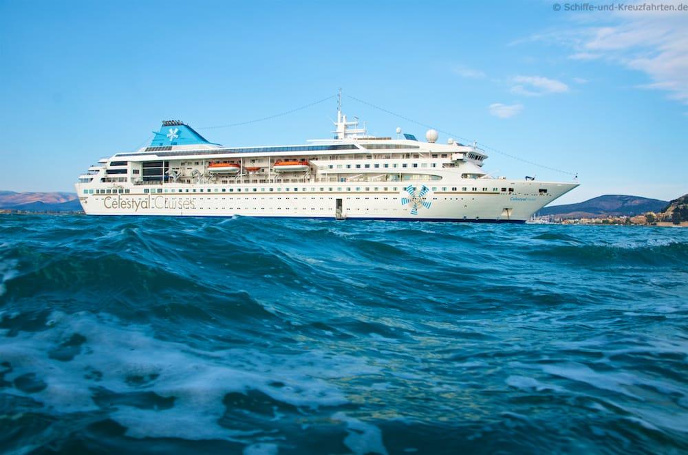 Celestyal Nefeli ist der jüngste Flottenzuwachs von Celestyal Cruises