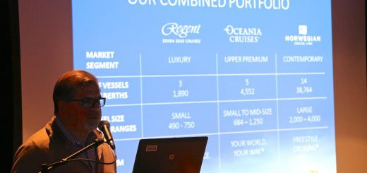 Frank del Rio, CEO der Norwegian Holding mit den Marken: Norwegian Cruise Line, Regent Seven Seas und Oceania Cruises