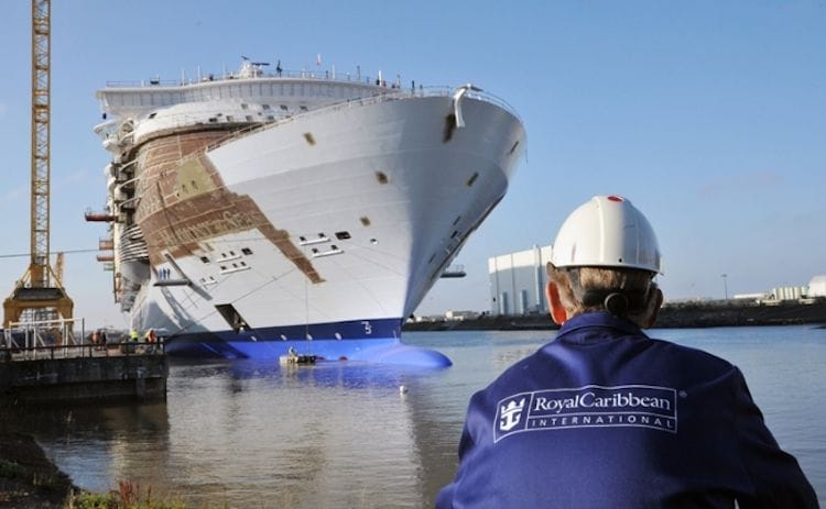 Das fünfte Oasis Class Schiff wird im Jahr 2021 übergeben / © Royal Caribbean International
