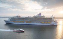 Harmony of the Seas wurde feierlich in Southampton empfangen