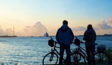 Mein Schiff 4 verlässt Hamburg: Bilder & Videos am Lühe Anleger