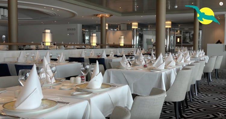 Das neue Restaurant Vier Jahreszeiten an Bord der MS Amadea / © Phoenix Reisen