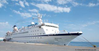 MS Berlin Kreuzfahrten 2016 und 2017 auf einen Blick