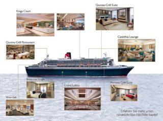 Die neue Queen Mary 2 / © Cunard Line