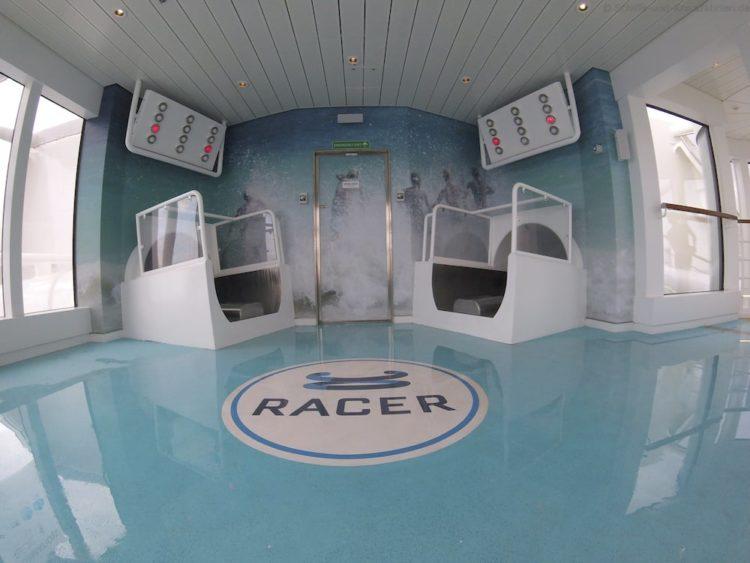 AIDA Racer - die Wasserrutsche auf AIDAprima