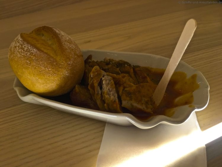 Currywurst AIDAprima