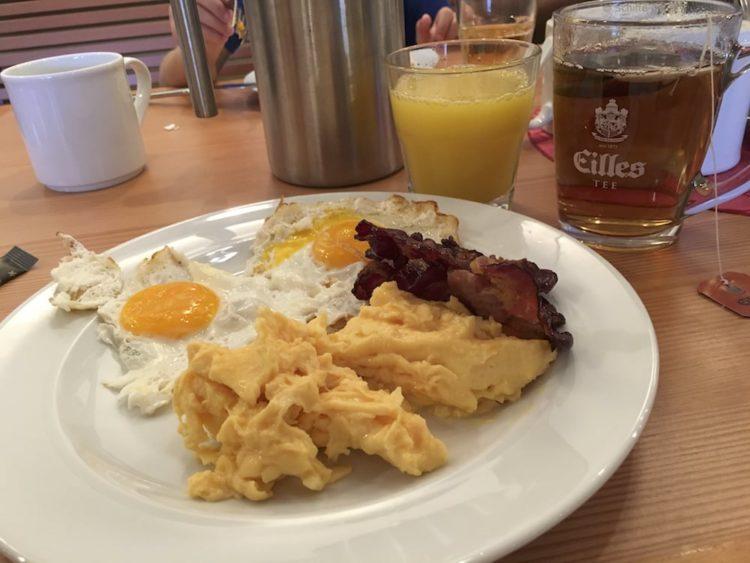 Frühstück im Bella Donna - AIDAprima