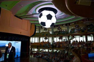 Fußball-EM auf AIDAprima