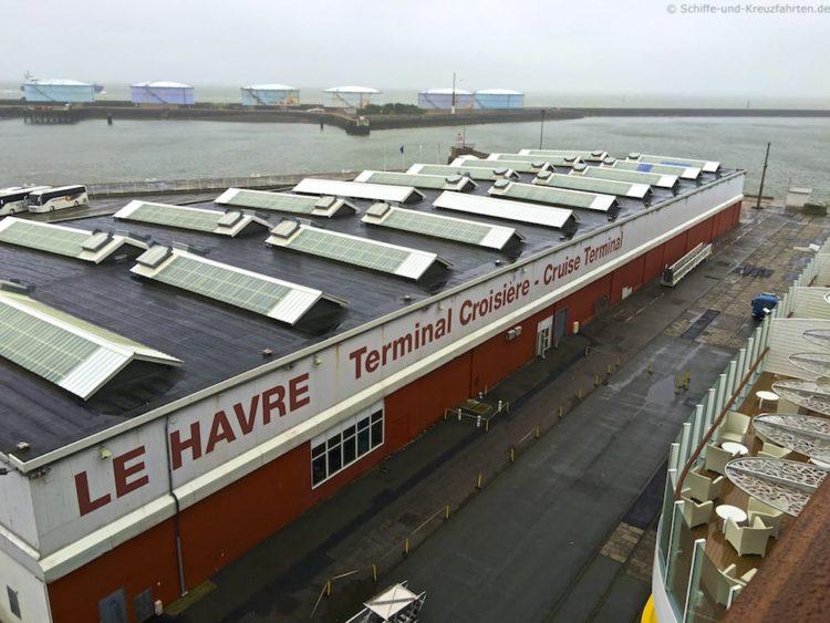Reisebericht AIDAprima Le Havre