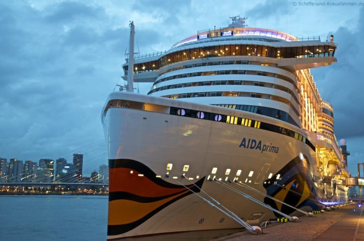 AIDAprima muss in die Werft - Reise abgesagt!