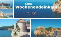 AIDA Wochenendeinkauf: AIDA Reisen zu Sparpreisen mit Einzelportait-Shooting