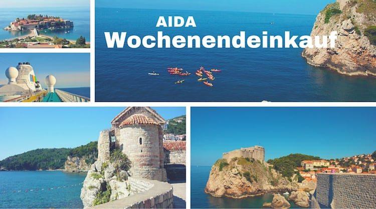 AIDA Wochenendeinkauf
