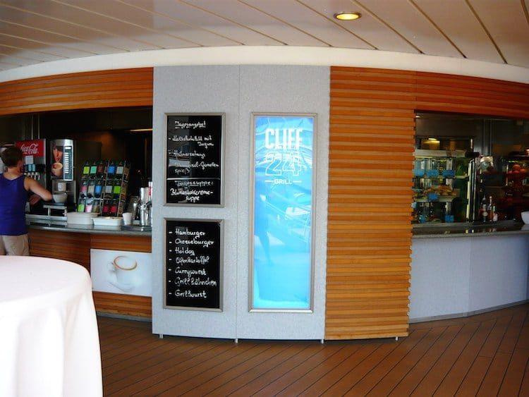 Cliff 24 Grill Mein Schiff 1