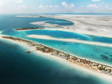 Sir Bani Yas Island südwestlich der Küste des Emirats Abu Dhabi / © MSC Crociere