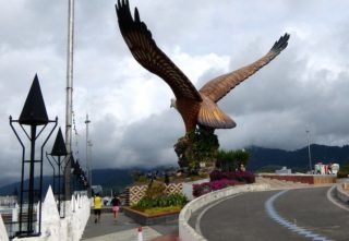Eagle Square in Kuah