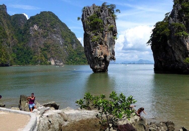 James Bond Felsen Phuket