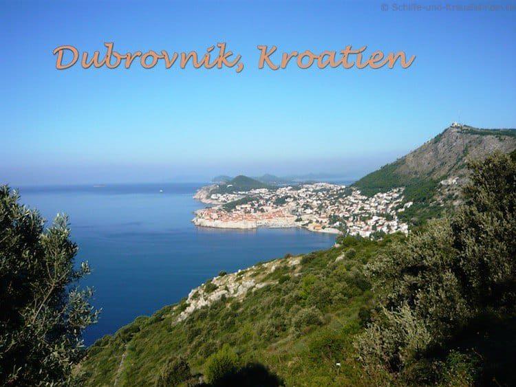 Mein Schiff 3 in Dubrovnik