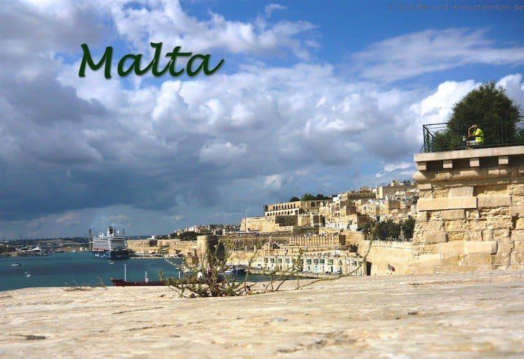 Mit der Mein Schiff 3 auf Malta