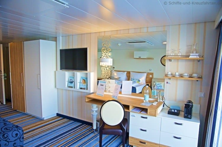 Mein Schiff 4 Balkonkabine 9041 barrierefrei - Kategorie C