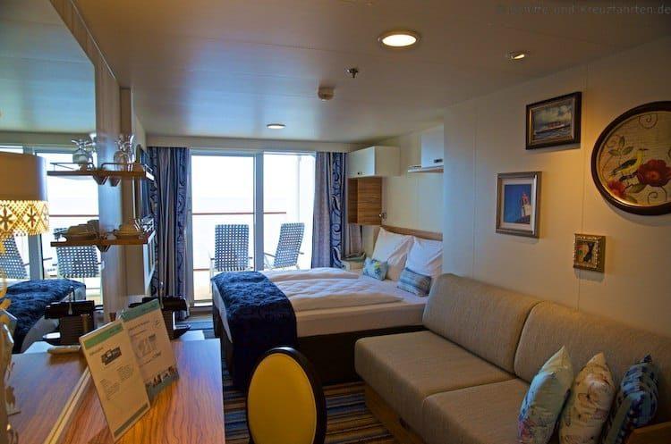 Mein Schiff 4 Balkonkabine 7199 - Kategorie F