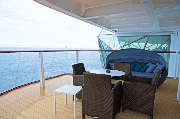 Mein Schiff 4 Diamant Suite 6176
