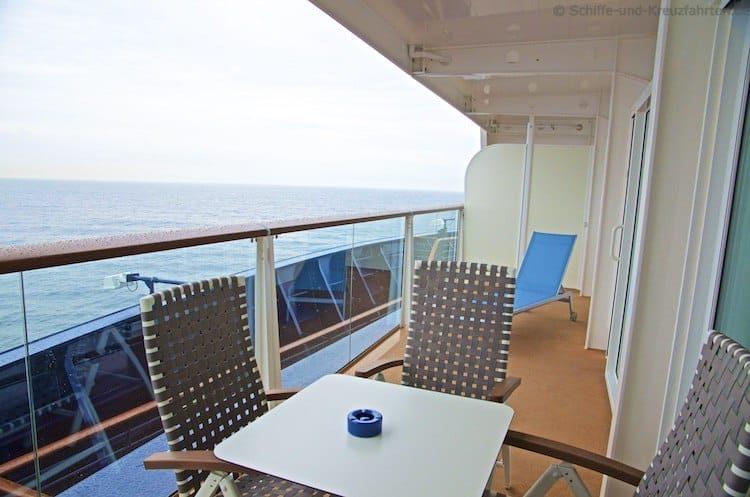 Mein Schiff 4 Familienkabine Balkon 6005