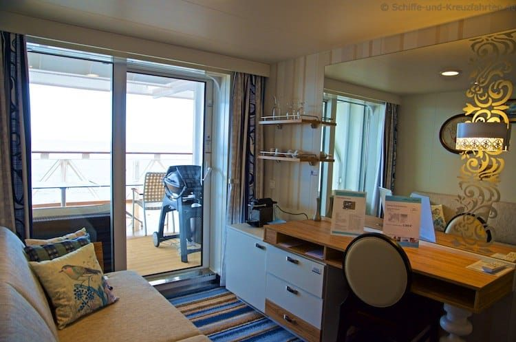 Mein Schiff 4 Kombi-Balkonkabine 7203