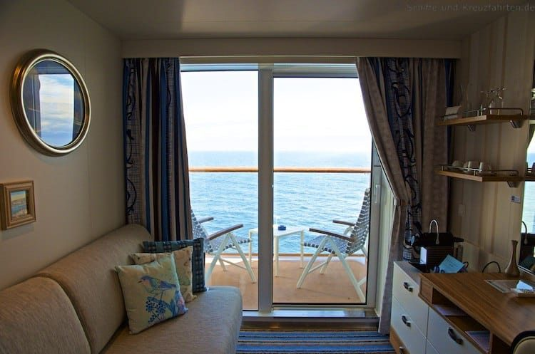 Mein Schiff 4 SPA Balkonkabine 11019