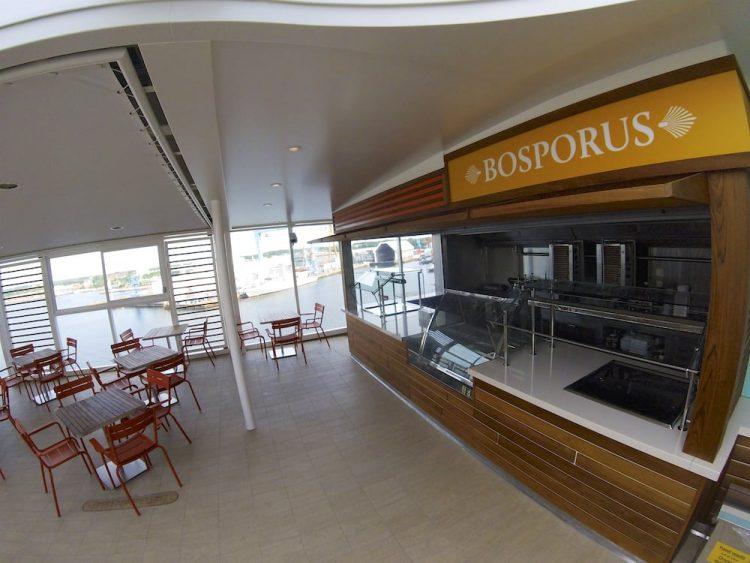 Mein Schiff 5 Neuheiten: Bosporus Snack Bar