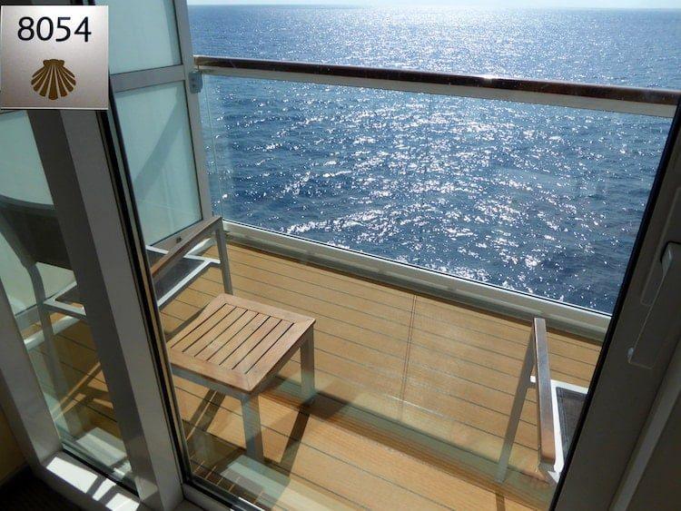 Balkonkabine 8054 - Mein Schiff 1