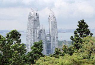 Ausblick Mount Faber Singapur