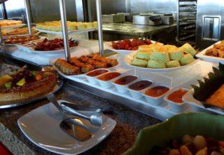 Asiatisches Nachtischbuffet