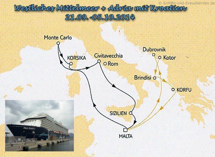 Mein Schiff 3 Reisebericht Mittelmeer & Adria