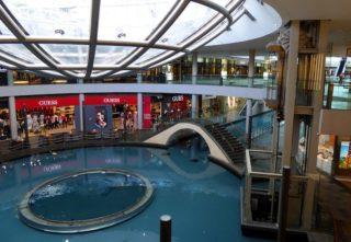 Marina Bay Shopping Center Singapur
